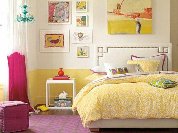 Jugendliches Schlafzimmer Modern Gestalten Schlafzimmer Gestalten Gelb