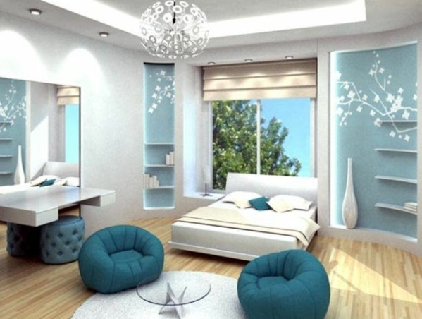 Design : Schlafzimmer Design Blau Schlafzimmer Design Blau ... Schlafzimmer Einrichten Blau