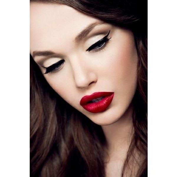 schminken augen natürliches make up festlich