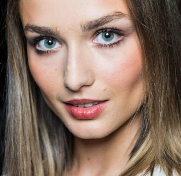 schminktipp augen natürliches make up simpel