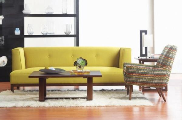 skandinavische möbel couchtisch holz wohnzimmer sofa