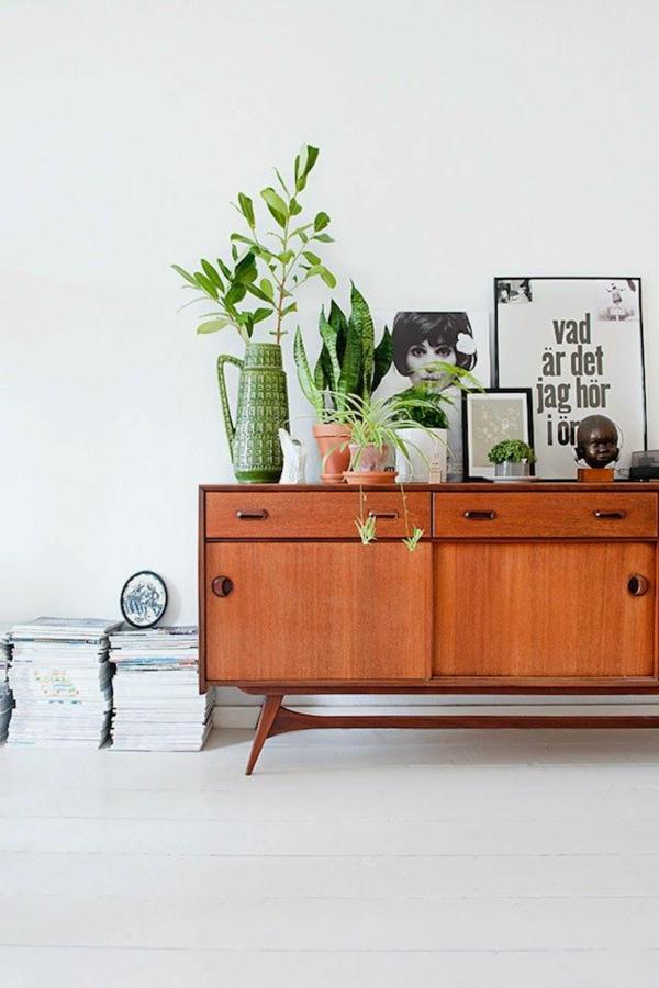 skandinavisches design möbel holz kommode retro stil