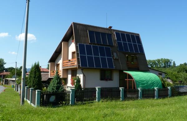 solaranlage und photovoltaik ökohaus