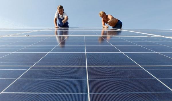 solaranlage photovoltaik bauen