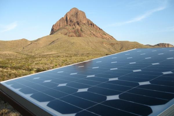 solaranlage photovoltaik berg