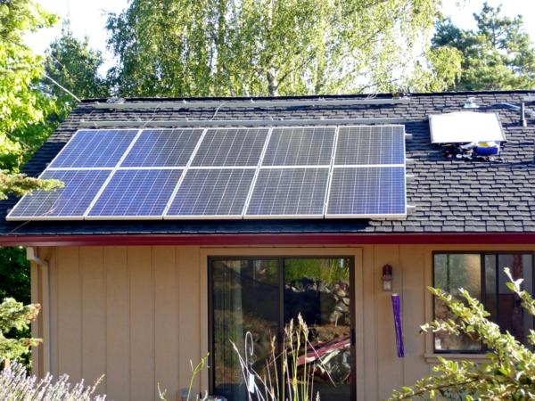 solaranlage photovoltaik bungalow