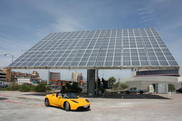 solaranlage photovoltaik überdachung