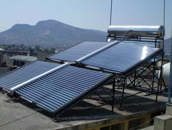 solaranlage und photovoltaik groß termisch