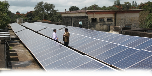 solaranlage und photovoltaik indien