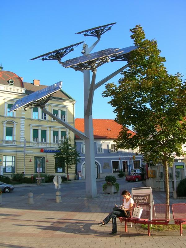 solaranlage und photovoltaik kunst