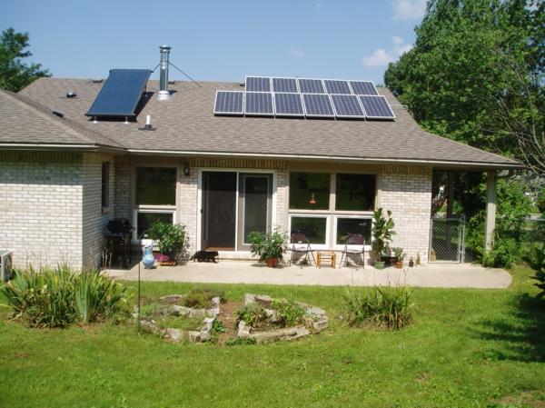solaranlage und photovoltaik landhaus