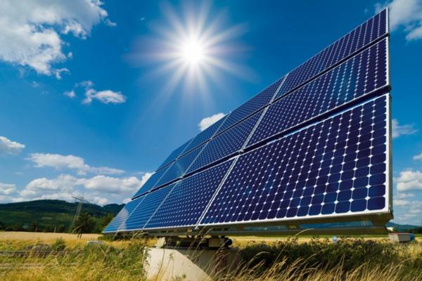 solaranlage und photovoltaik modul