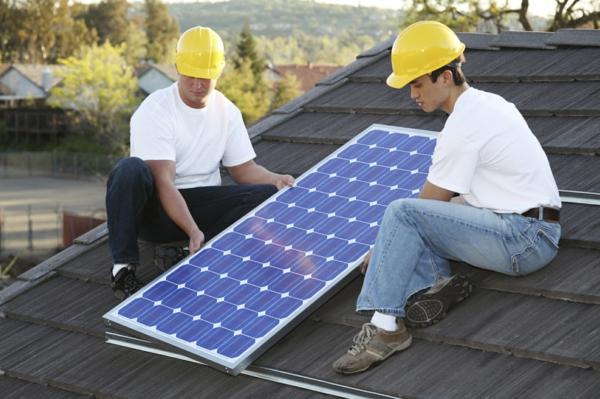 solaranlage und photovoltaik montage