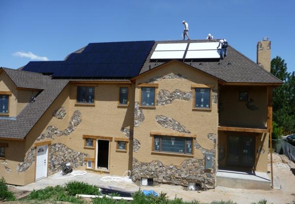 solaranlage und photovoltaik nachhaltig modern