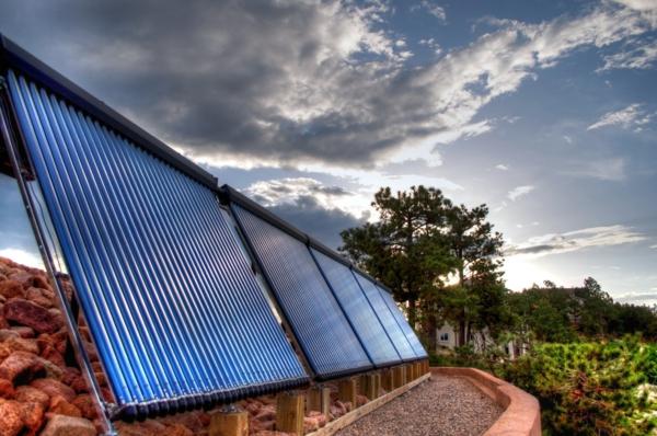 solaranlage und photovoltaik natur