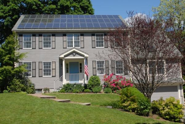 solaranlage und photovoltaik usa haus