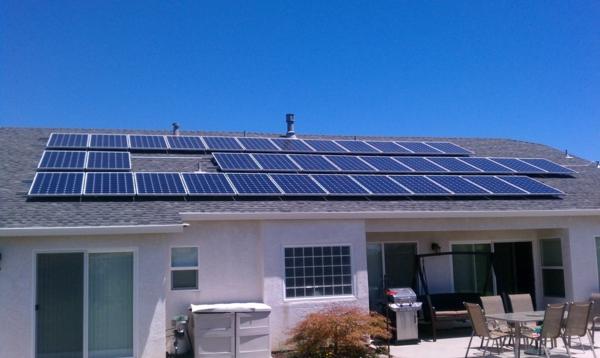 solaranlage photovoltaik villa