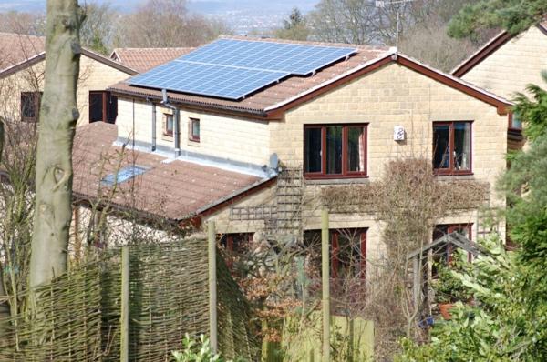 solaranlage und photovoltaik wald
