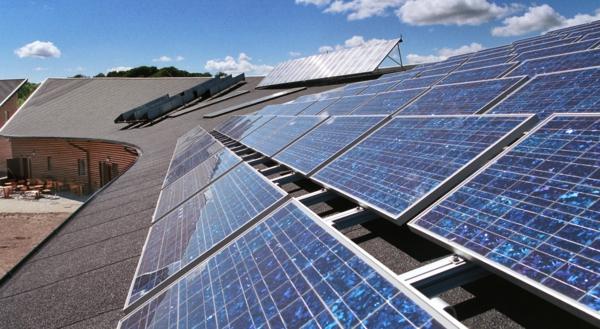 solaranlage und photovoltaik zellen