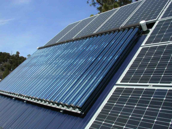 solaranlage und photovoltaik dachanlage