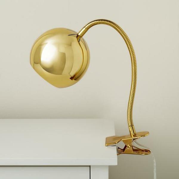 stehlampen modern gold stehleuchten nachttischlampe