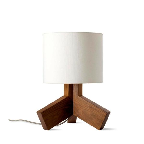 stehlampen modern holz weiß lampenschirm stehleuchten