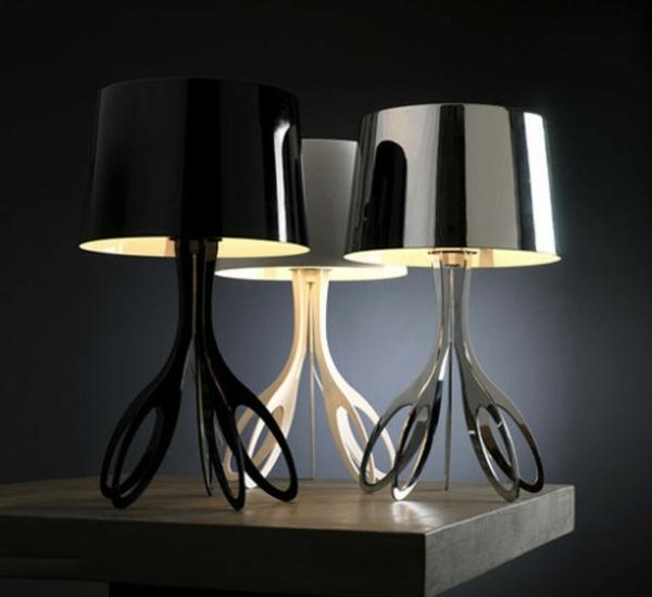 stehlampen modern lampenschirm stehleuchten scherren