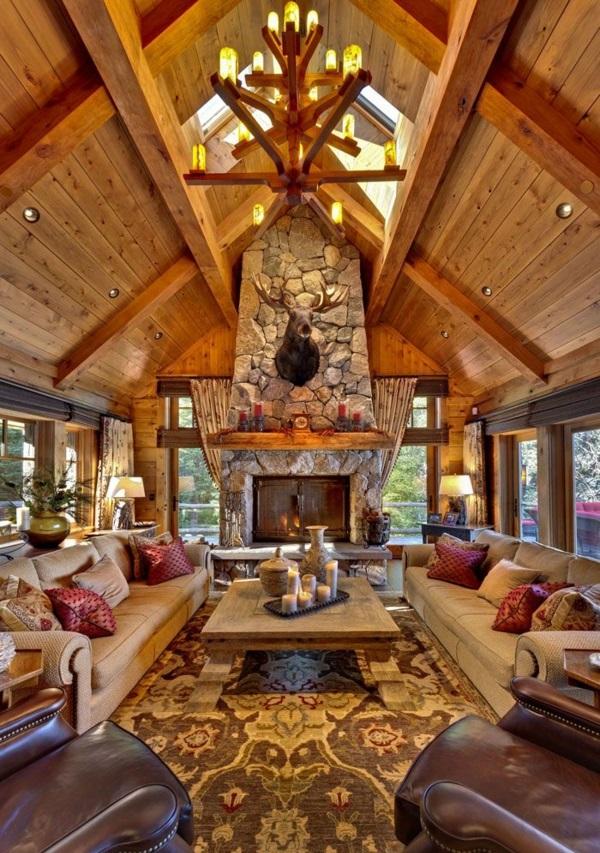 wohnzimmer luxus wohnzimmer modern mit kamin tausende