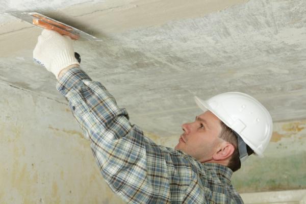 streichputz auftragen wände verputzen decke streichputz auftragen