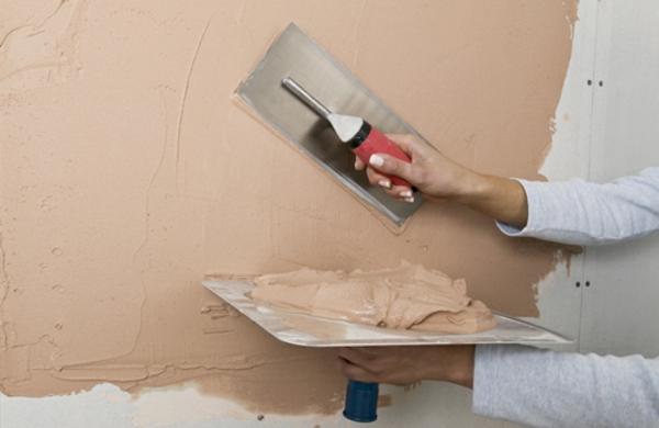 streichputz auftragen wände verputzen wandgestaltung
