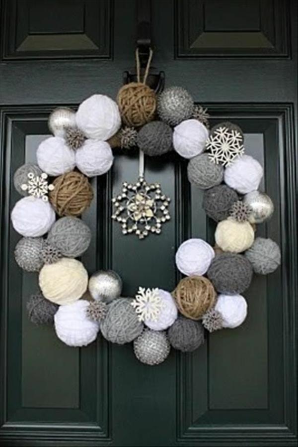 Türkranz Weihnachten adventskranz basteln und das schönste familienfest genießen