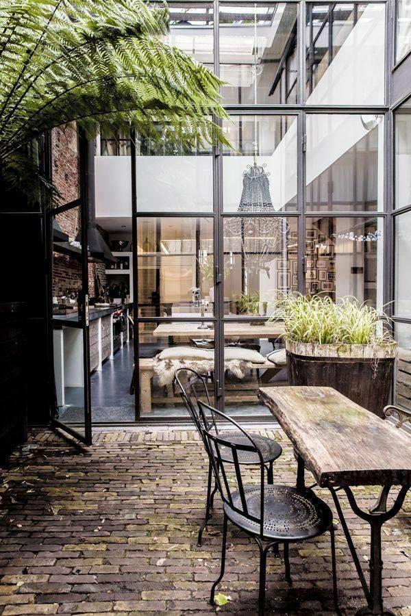 terrasse einrichten ideen pouf – usblife, Terrassen ideen