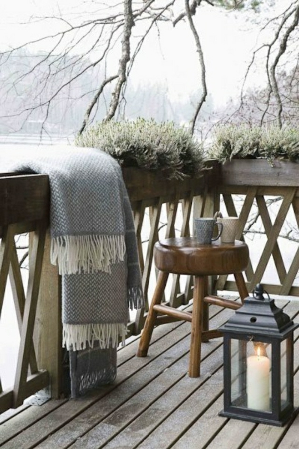 terrasse einrichten bereiten sie ihren au enbereich auf den winter vor. Black Bedroom Furniture Sets. Home Design Ideas