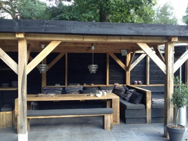 lounge ecke garten selber bauen – marikana, Haus und garten