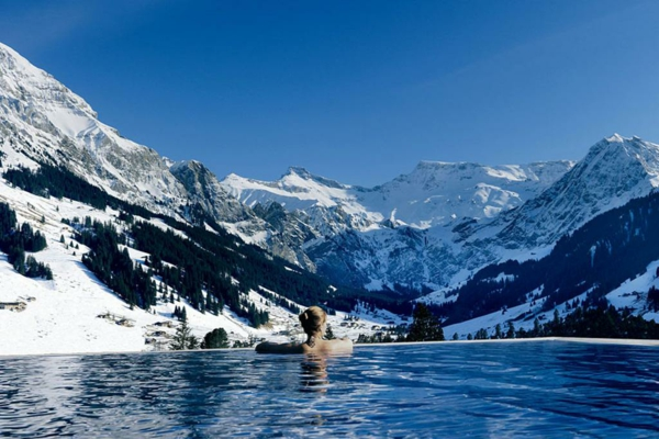 the cambrian hotel schweiz schnee gebirge
