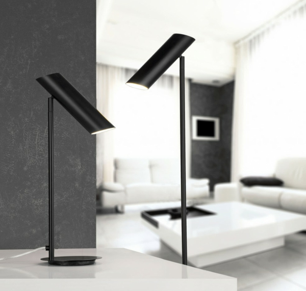 tischlampen stehlampen design holz standleuchten