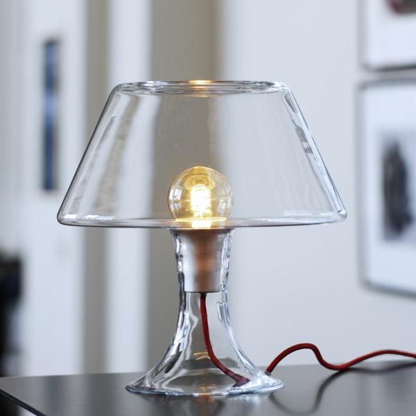 tischlampen stehlampen design lampenschirm glas nachttischlampe elegant