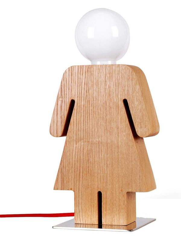 Stehlampen modern sorgen sie f r abwechslung und for Nachttischlampe holz design