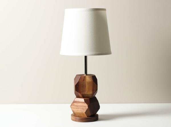 tischlampen stehlampen design nachttischlampe holz stehleuchten