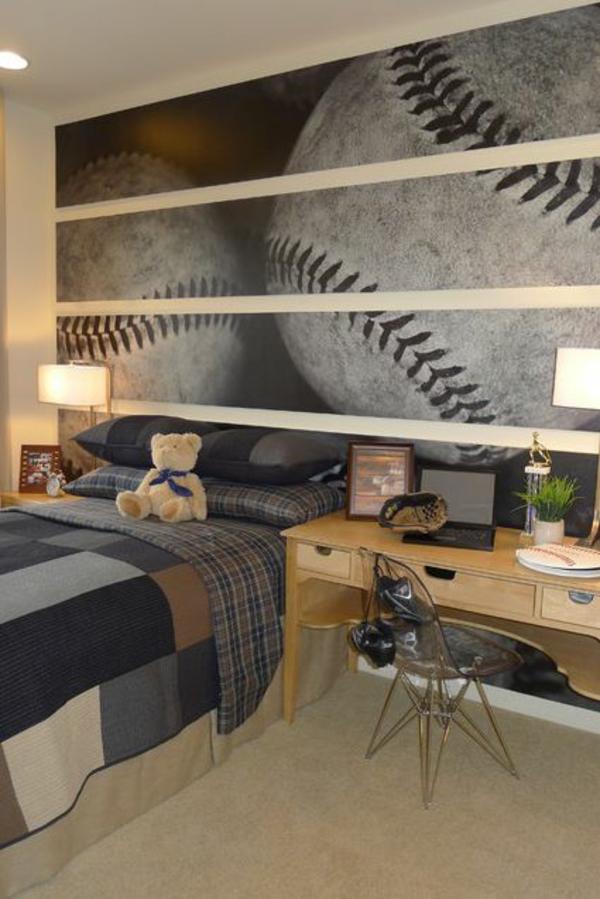 bälle wandgestaltung wohnideen wandfarben schlafzimmer jungen