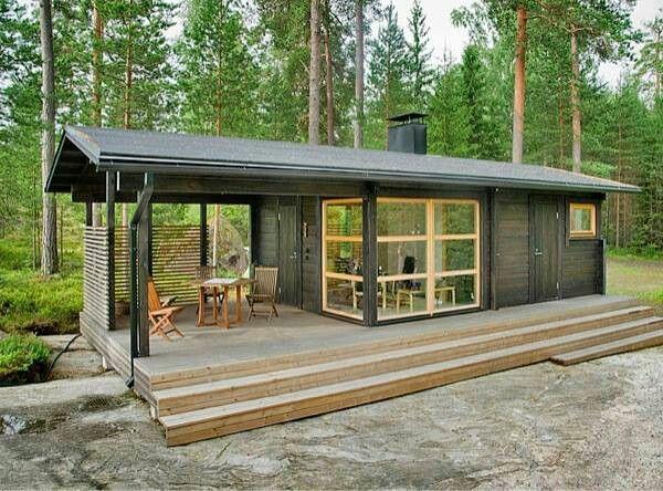 veranda bauen amerikanische holzhäuser terrassendielen