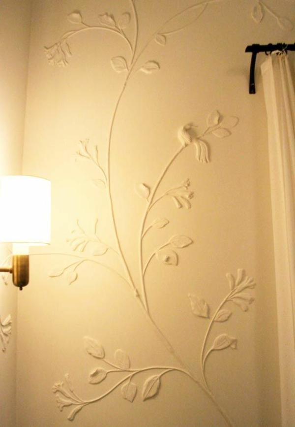 wände verputzen dekor streichputz auftragen wandgesrtaltung ideen