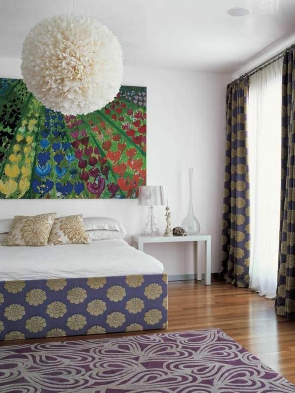 wanddeko ideen feng shui schlafzimmer einrichten