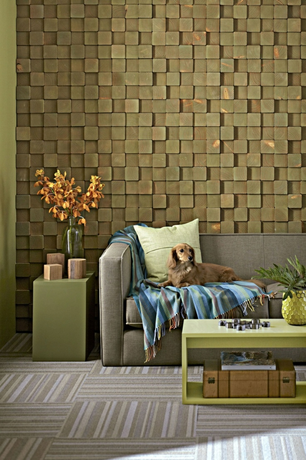 wandfarben  wanddeko wohnideen toll gestalten modern stil