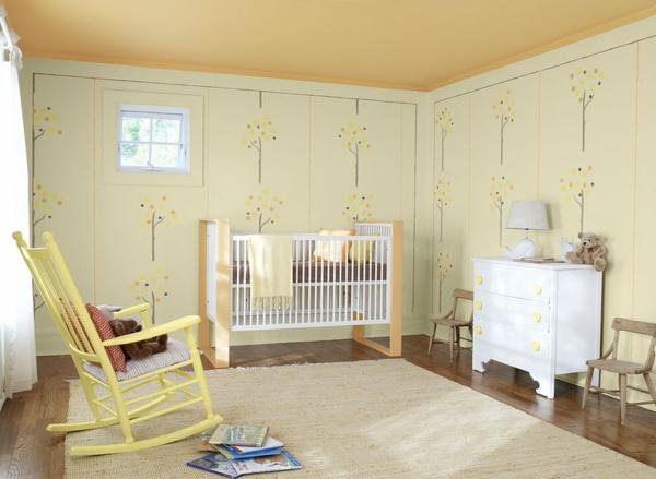 wandfarbe eierschalenfarben  eierschalenfarben schlafzimmer wandfarben gelb kolonialmöbel