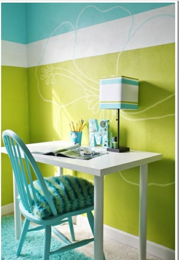 wohnzimmer petrol grün:Wohnzimmer wandfarbe grün : wandfarbe grün farbideen wandgestaltun