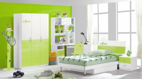 grün farbideen wandgestaltung akzent hell