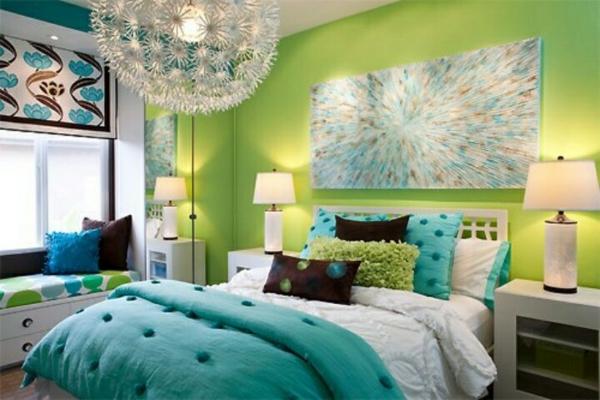 wandfarbe in grün farbideen wandgestaltung lichter