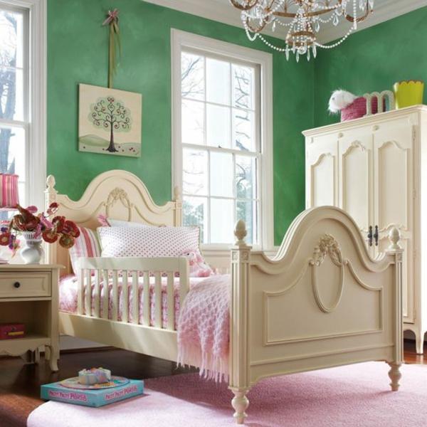 wandfarbe farbideen wandgestaltung schlafzimmer mädchen