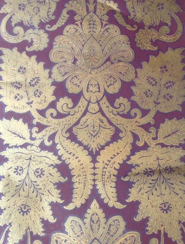 Muster Tapeten Bei Auszug Entfernen : wandgestaltung mit tapeten designer tapeten florale muster lila